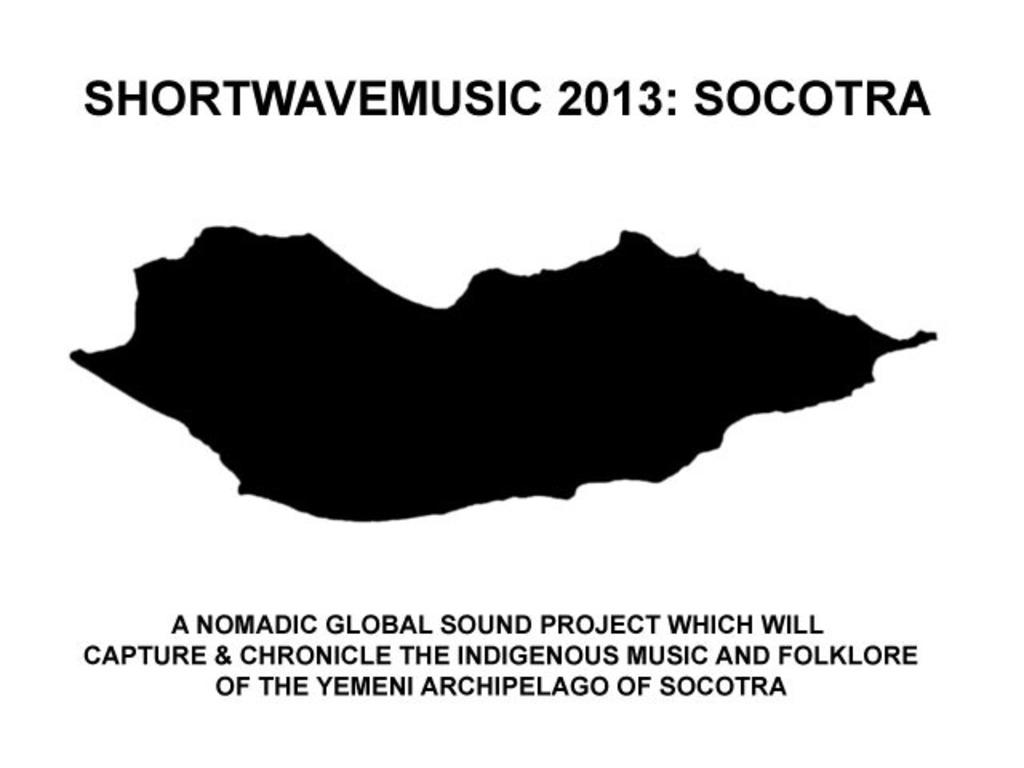 ShortWaveMusic 2013: Socotra's video poster