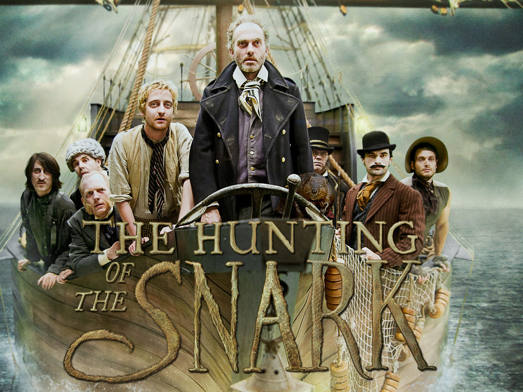 Lewis Carroll's Hunting of the Snark with Christopher Lee's video poster