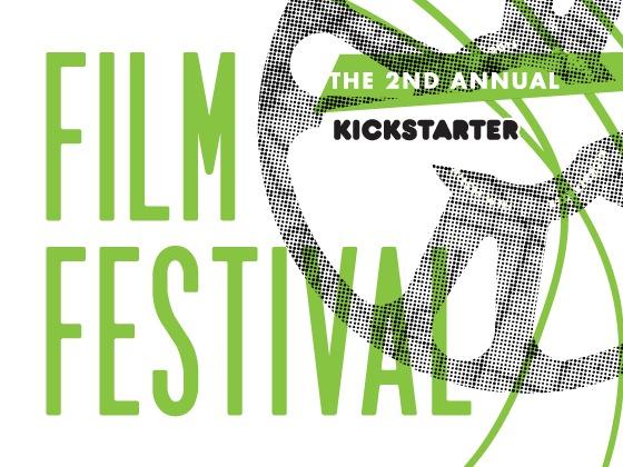 The Second Annual Kickstarter Film Festival's video poster