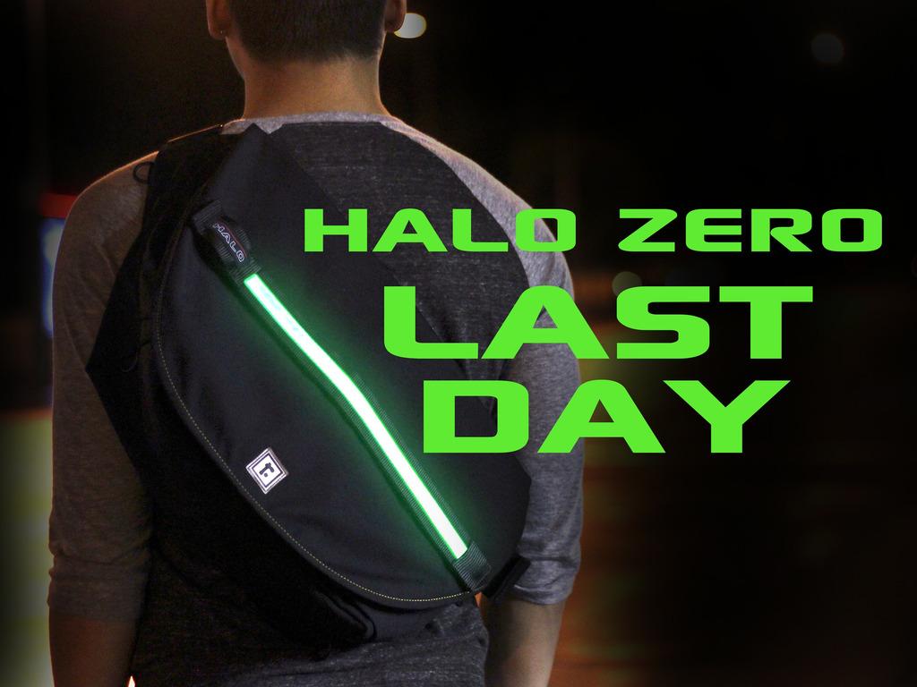 HALO ZERO LED MESSENGER BAG's video poster