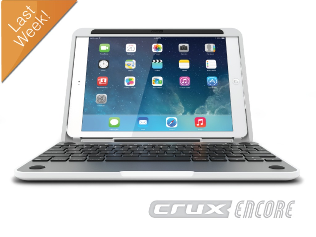 CruxENCORE™ (iPad Air Laptop)'s video poster