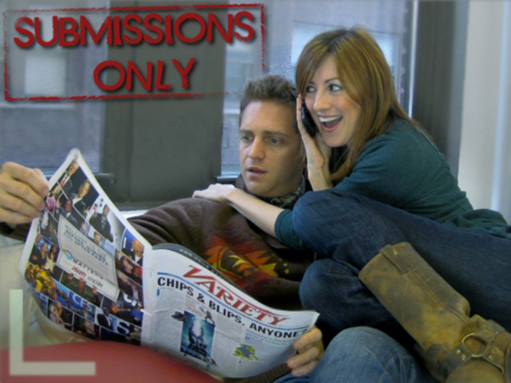 """""""Submissions Only"""" web series's video poster"""