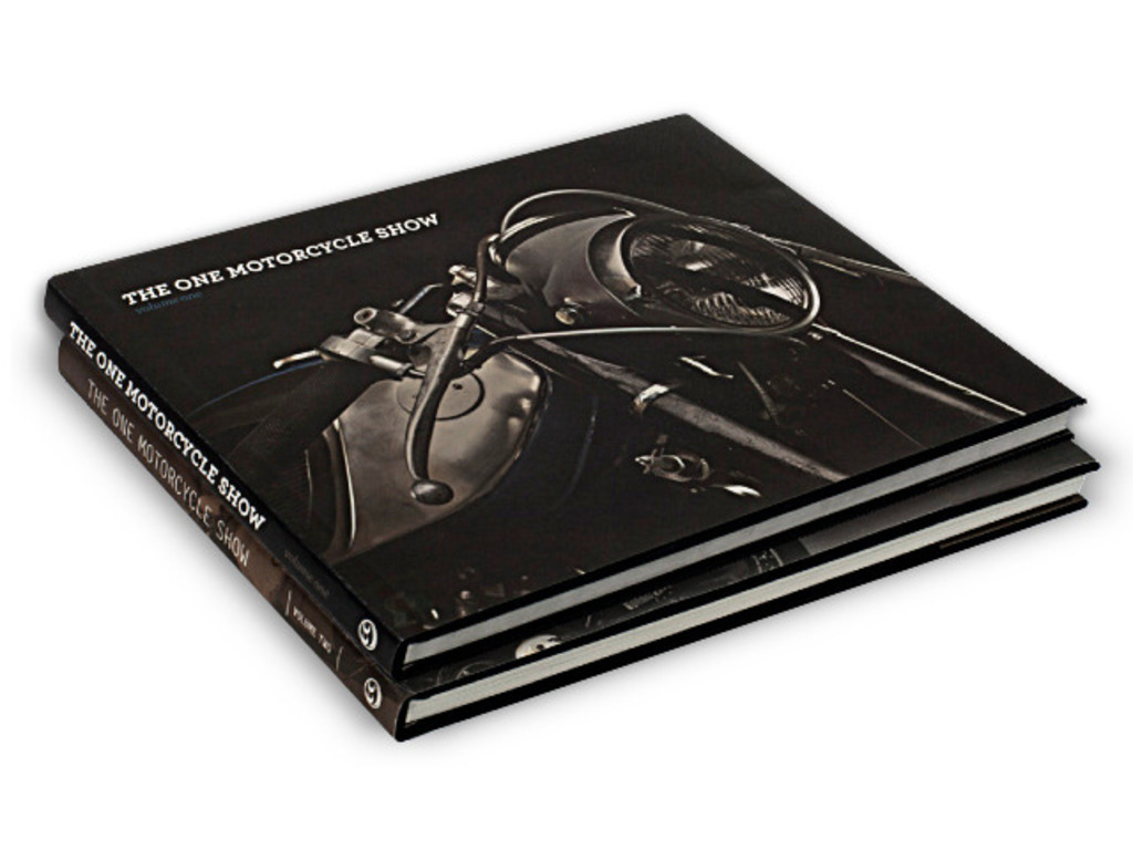 THE ONE MOTORCYCLE SHOW BOOKS V1 & V2's video poster