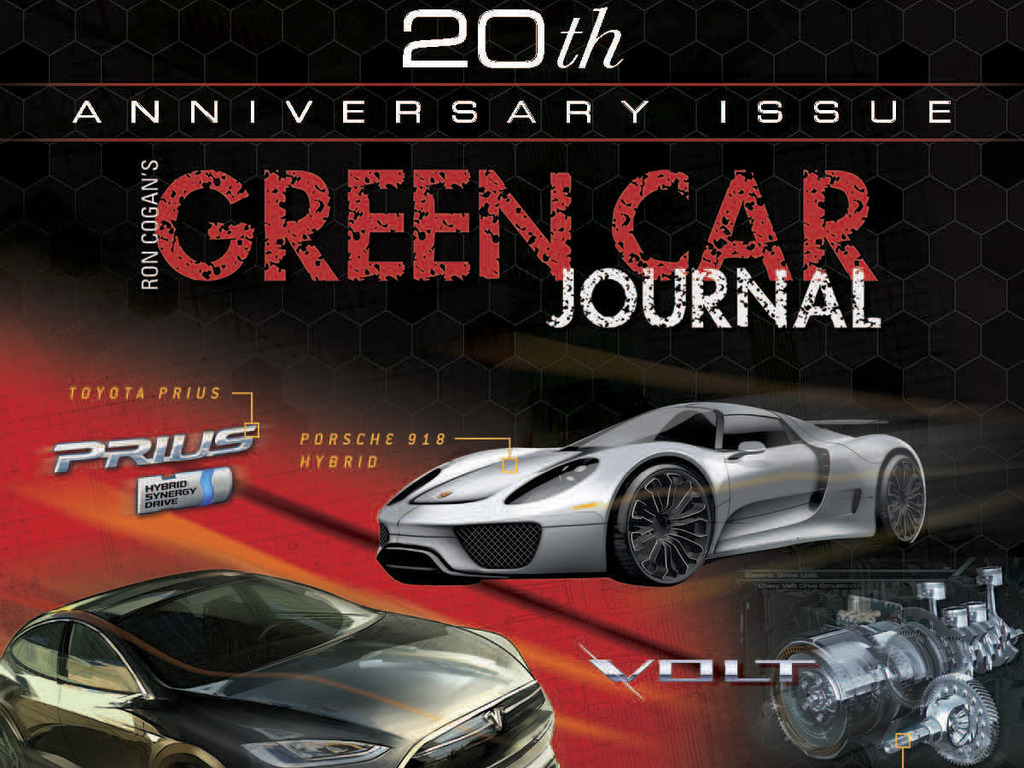 Green Car Journal's Special 20th Anniversary Issue's video poster