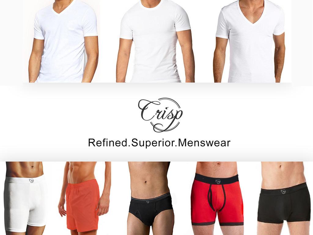 Crisp Wear: Premium undershirts and boxers's video poster