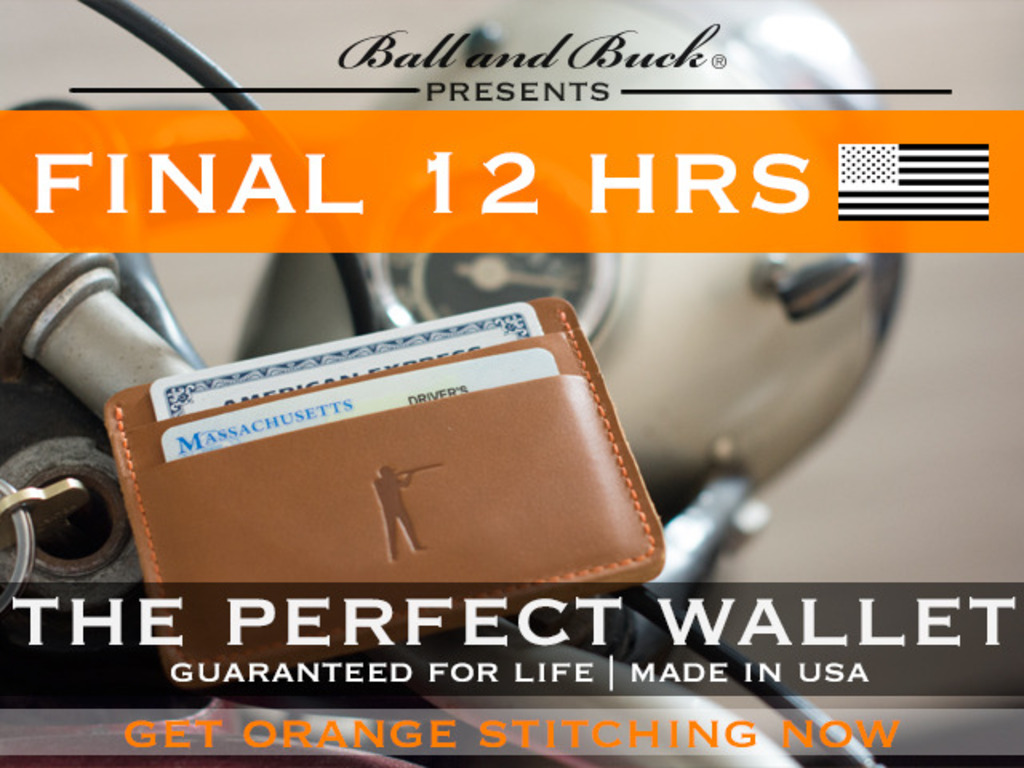 Ball and Buck: A Minimalist Wallet for Men - 100% USA MADE's video poster