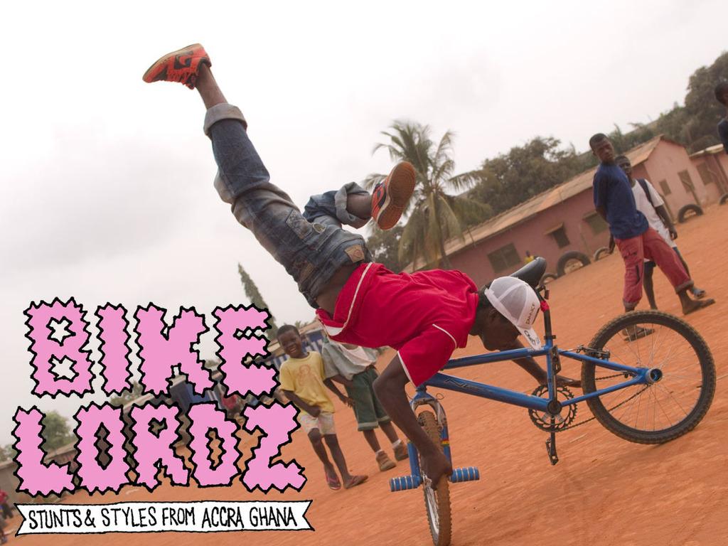 Bikelordz: Accra, Ghana BMX bike culture movie's video poster