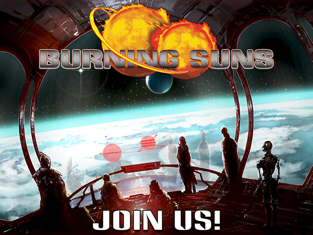 Burning Suns - The conquest of a galaxy's video poster