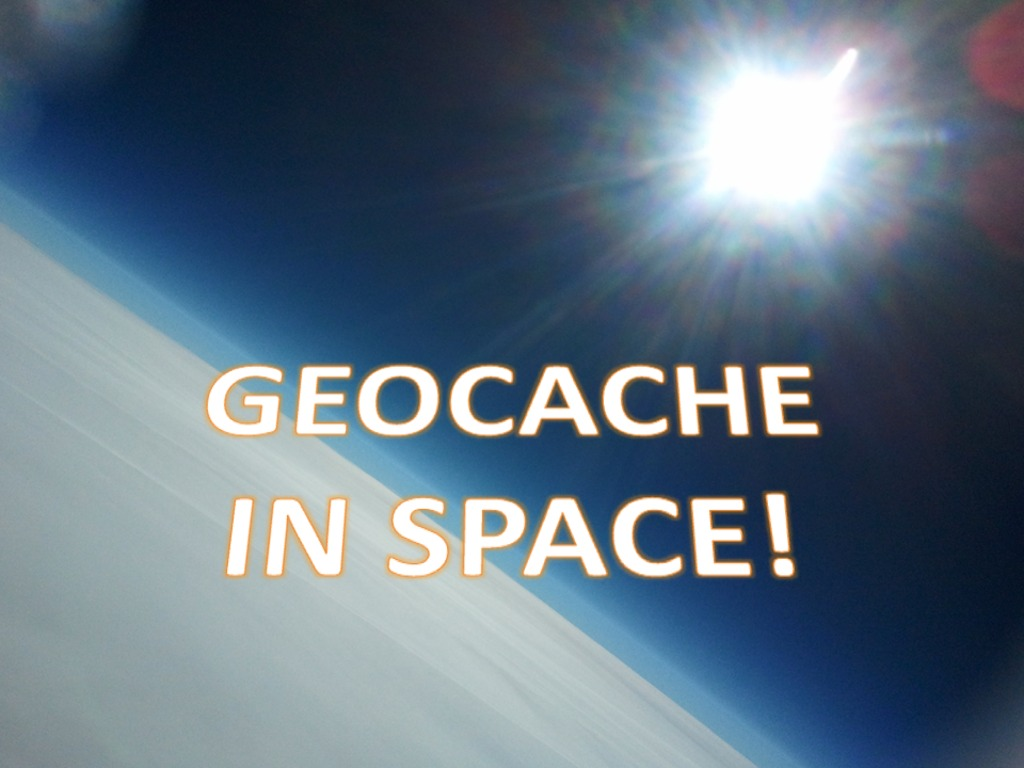 Geocache in Space!!'s video poster