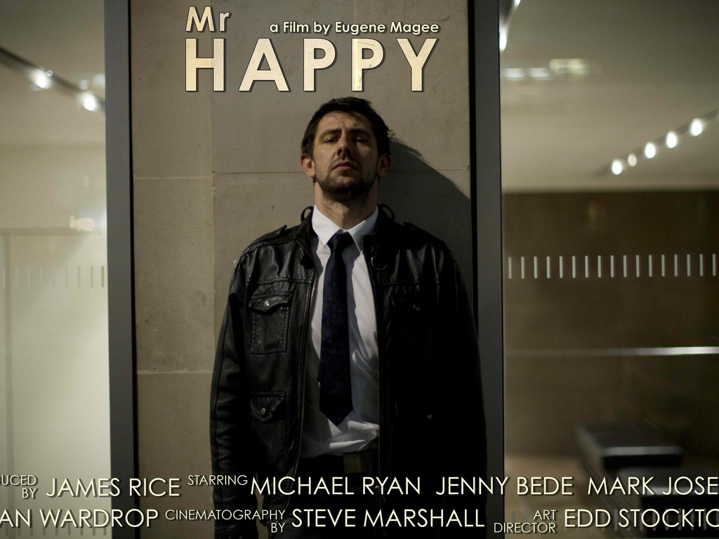 Mr. Happy's video poster