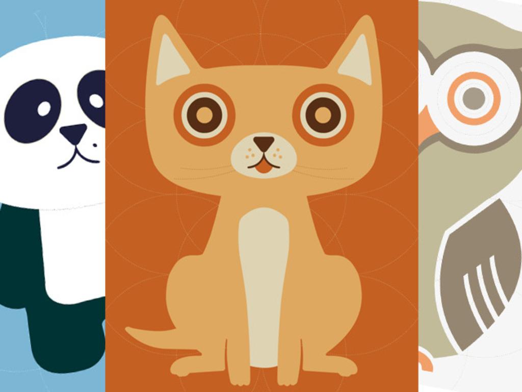 Cute Cat, Owl & Panda Screen Print Posters! (Canceled)'s video poster