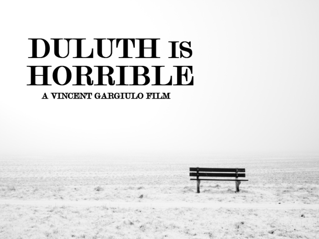 Duluth Is Horrible's video poster