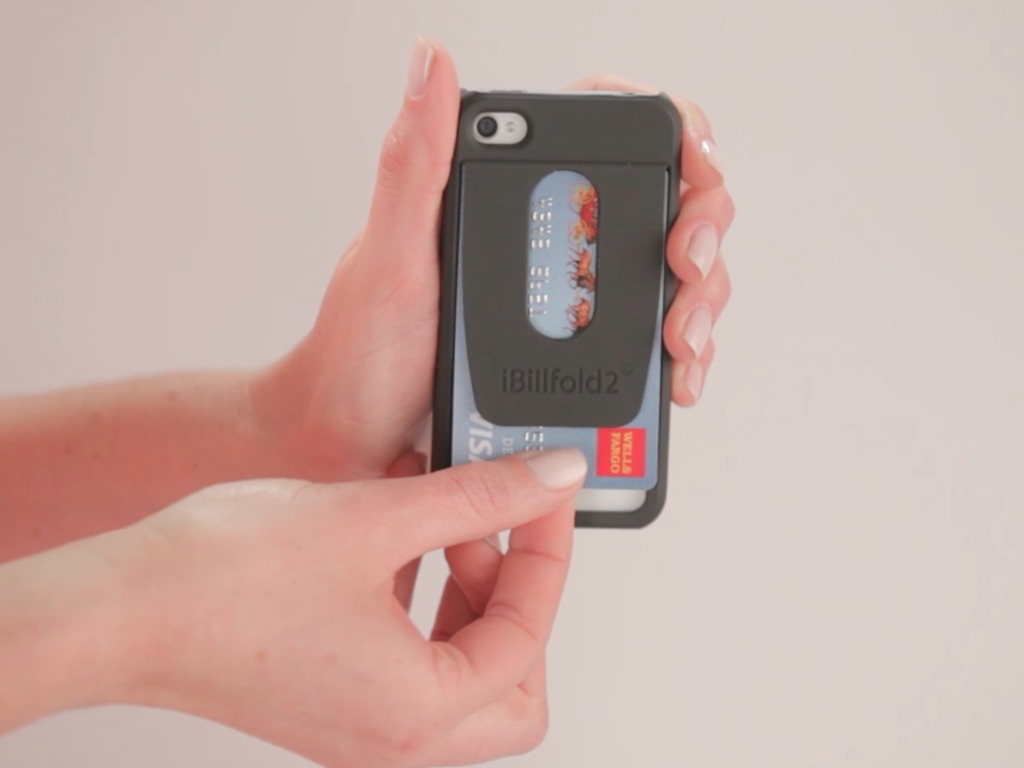 iBillfold2 - iPhone Credit Card Case & Attachable Billfold's video poster