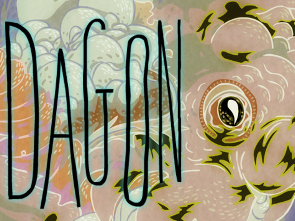 H. P. Lovecraft's DAGON - an animated adaptation's video poster