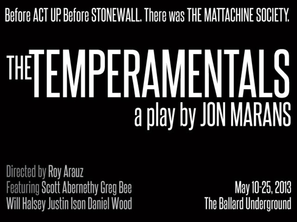 The Temperamentals - Northwest Premiere's video poster