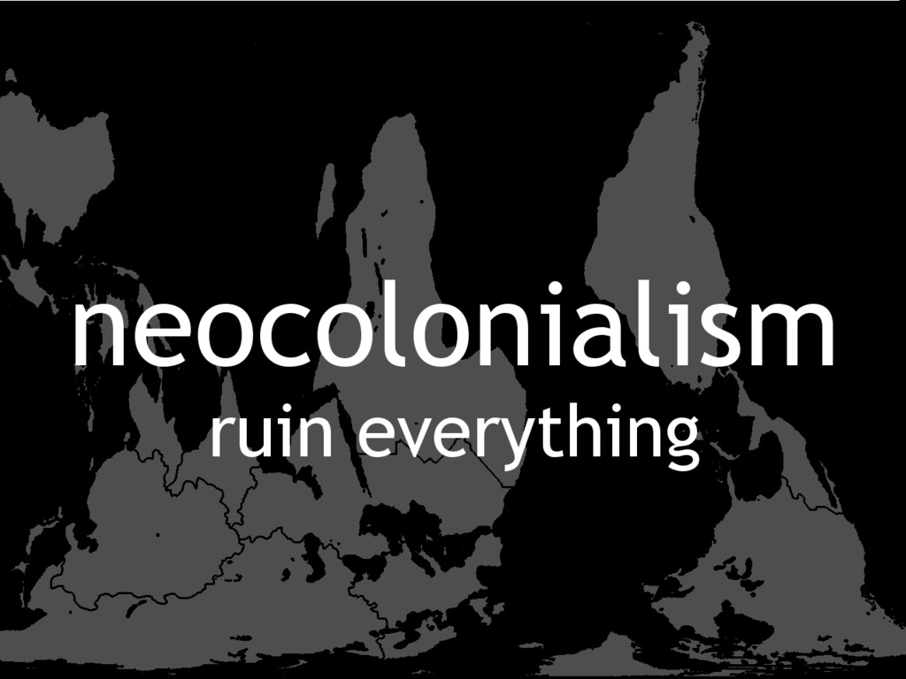 Neocolonialism's video poster