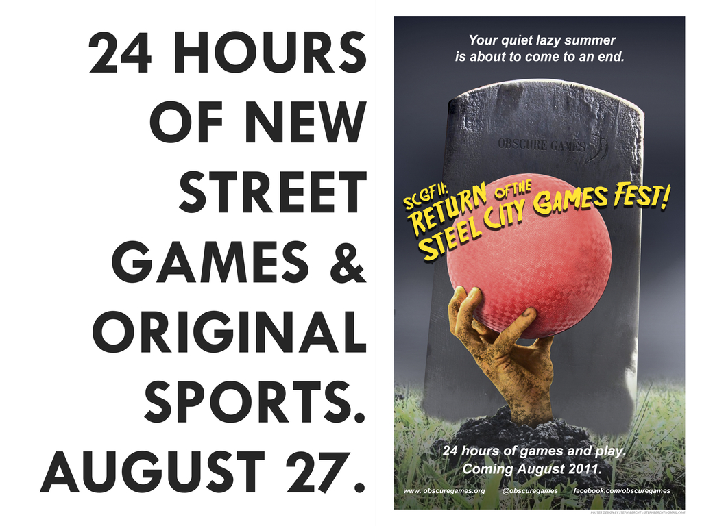 The Steel City Games Fest: 24 new games over 24 hours's video poster