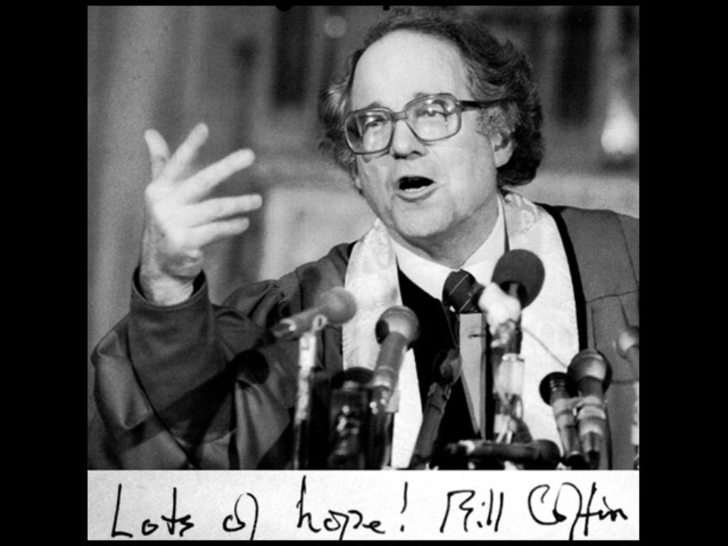 The William Sloane Coffin Sermon Archive Project's video poster