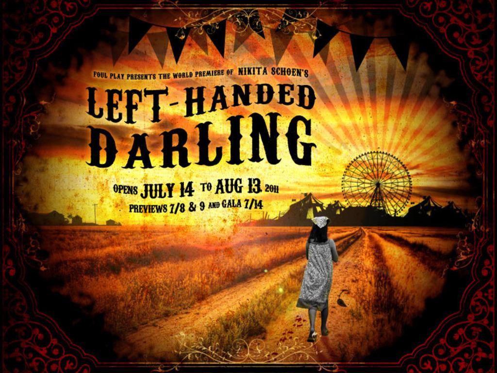 Nikita Schoen's LEFT-HANDED DARLING's video poster