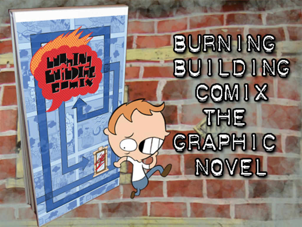 Burning Building Comix, The Graphic Novel's video poster