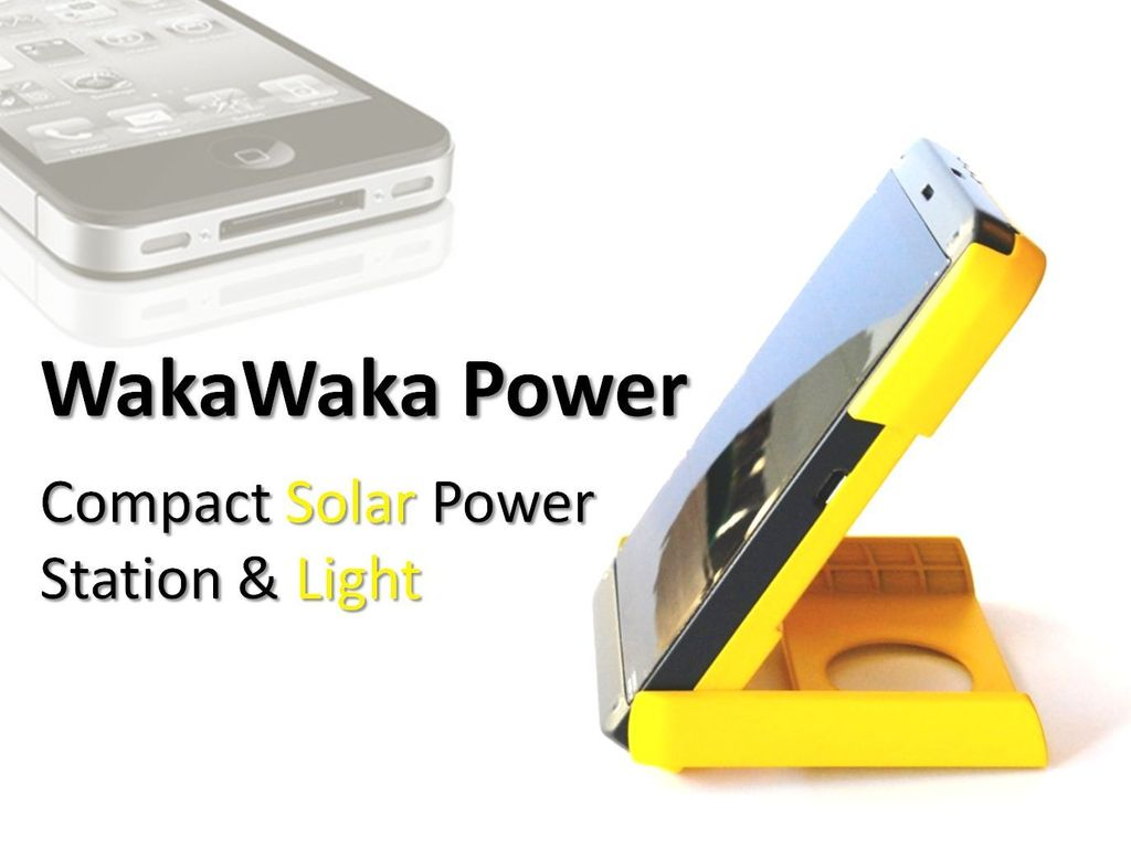 WakaWaka Power: the Best Compact Solar Power Station & Light's video poster