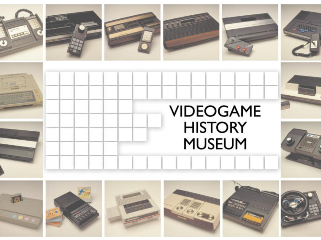 The Videogame History Museum's video poster