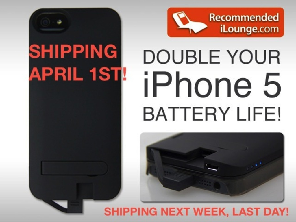 World's first iPhone 5 Interchangeable Battery & Case Cover!'s video poster