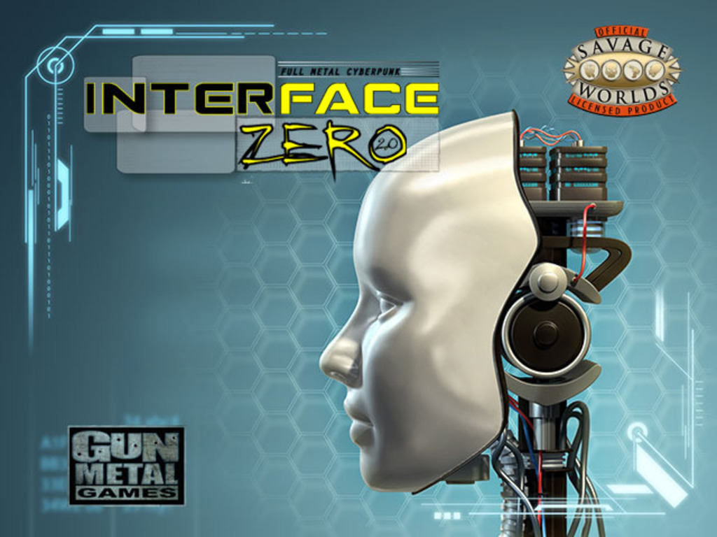 Interface Zero 2.0: Full Metal Cyberpunk's video poster