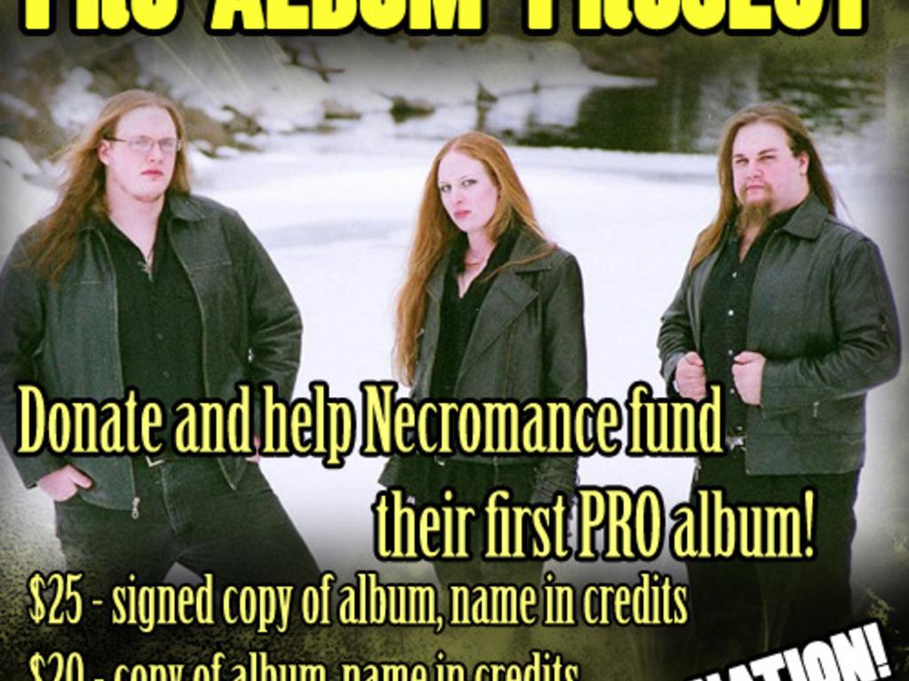 Necromance PRO album project's video poster