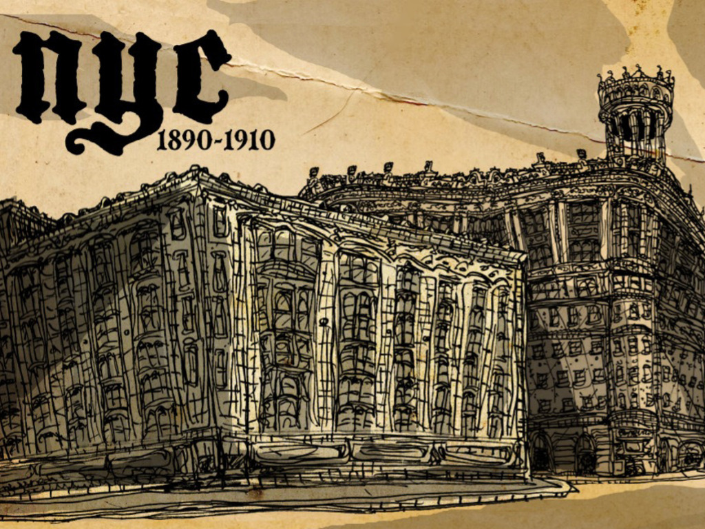 Gilded Age of Manhattan art. 1880-1910's video poster