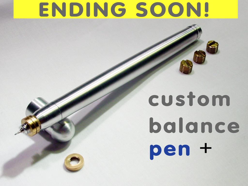 e1 Custom Balance Pen + for the Hi-Tec-C's video poster