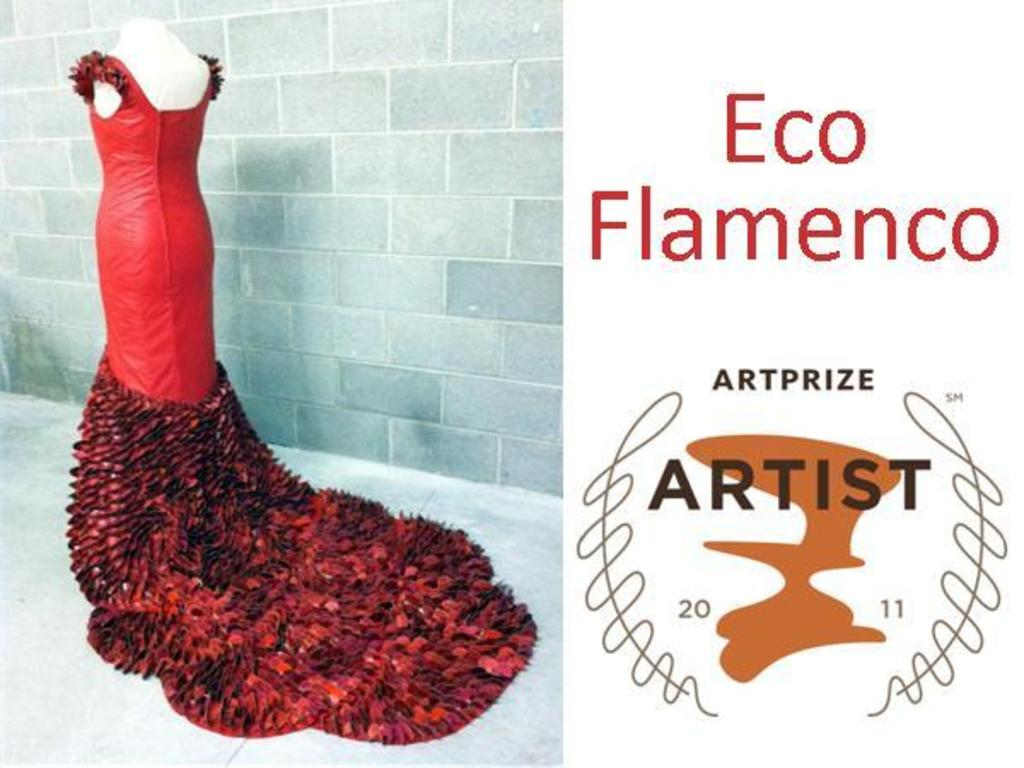 Eco-Flamenco: One Dress Made by Thousands of People's video poster