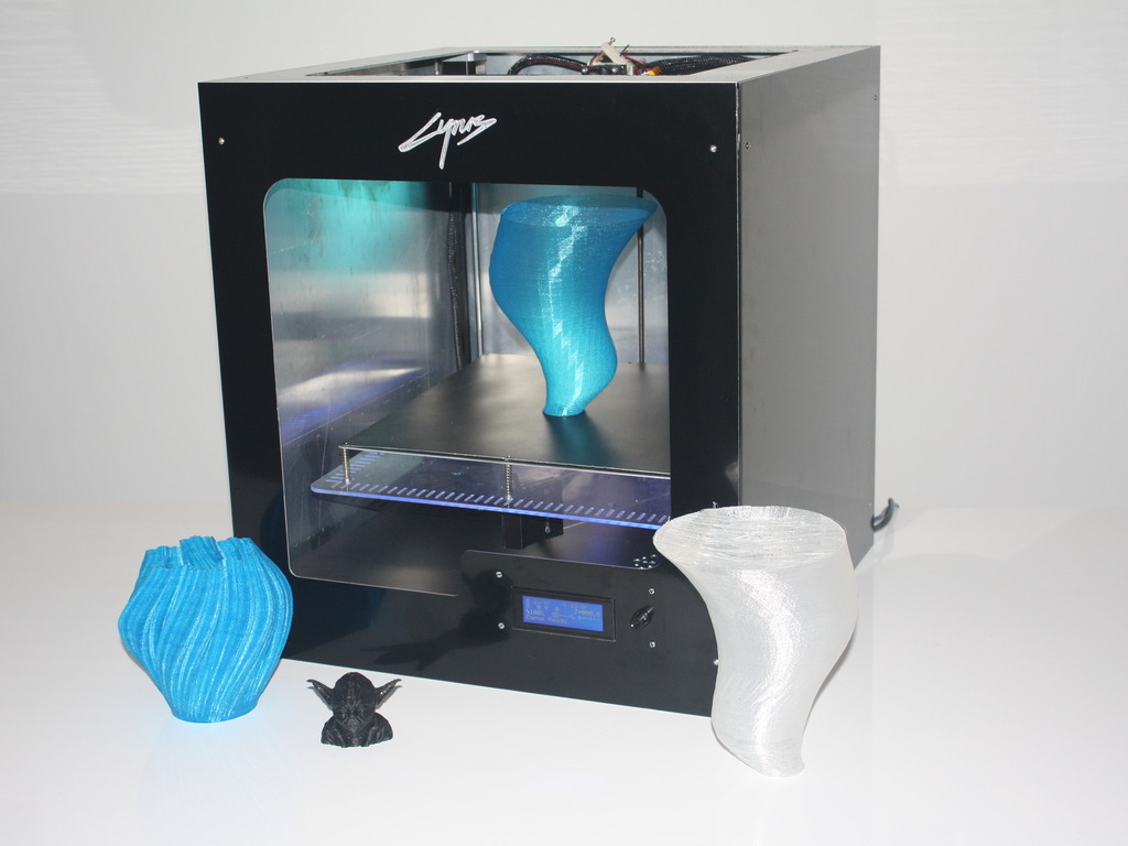 Cyrus: open source 3D printer (Canceled)'s video poster