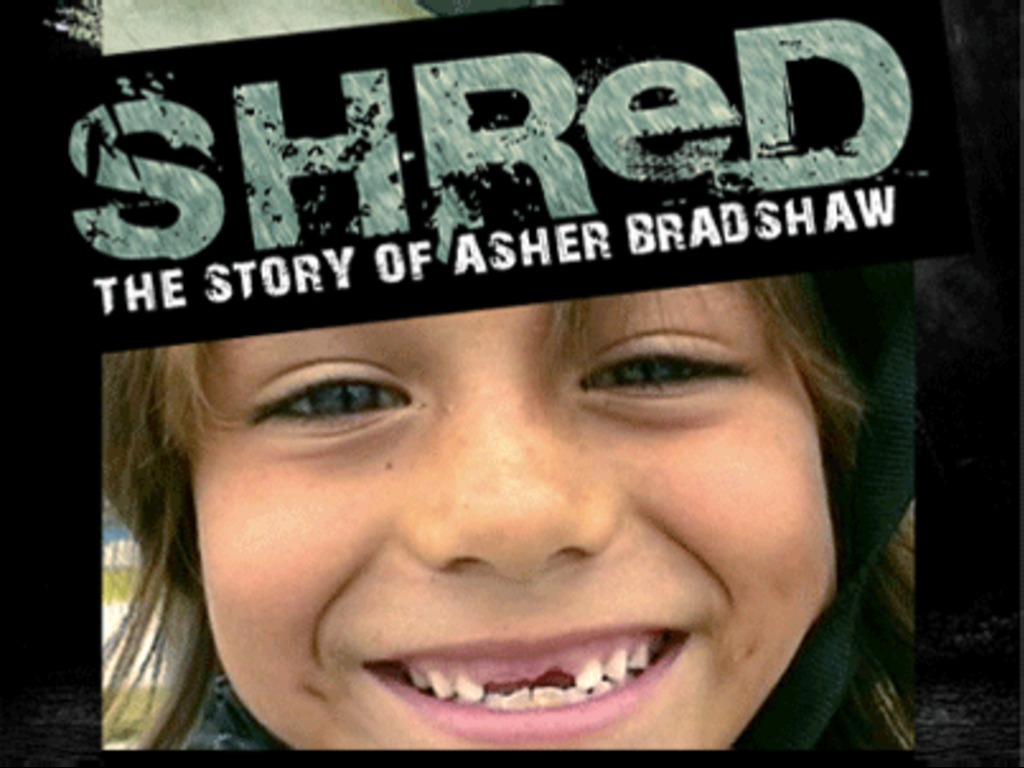SHReD: The Story of Asher Bradshaw's video poster