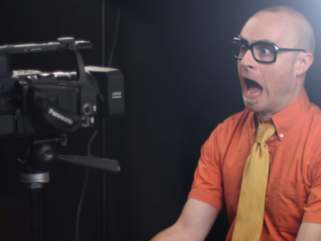 MC Frontalot Music Video Extravaganza's video poster