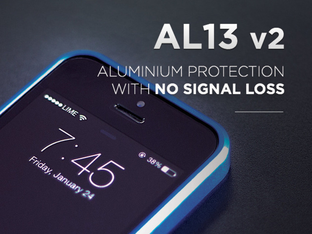 AL13 v2 - Aluminum iPhone Protection with NO Signal Loss's video poster