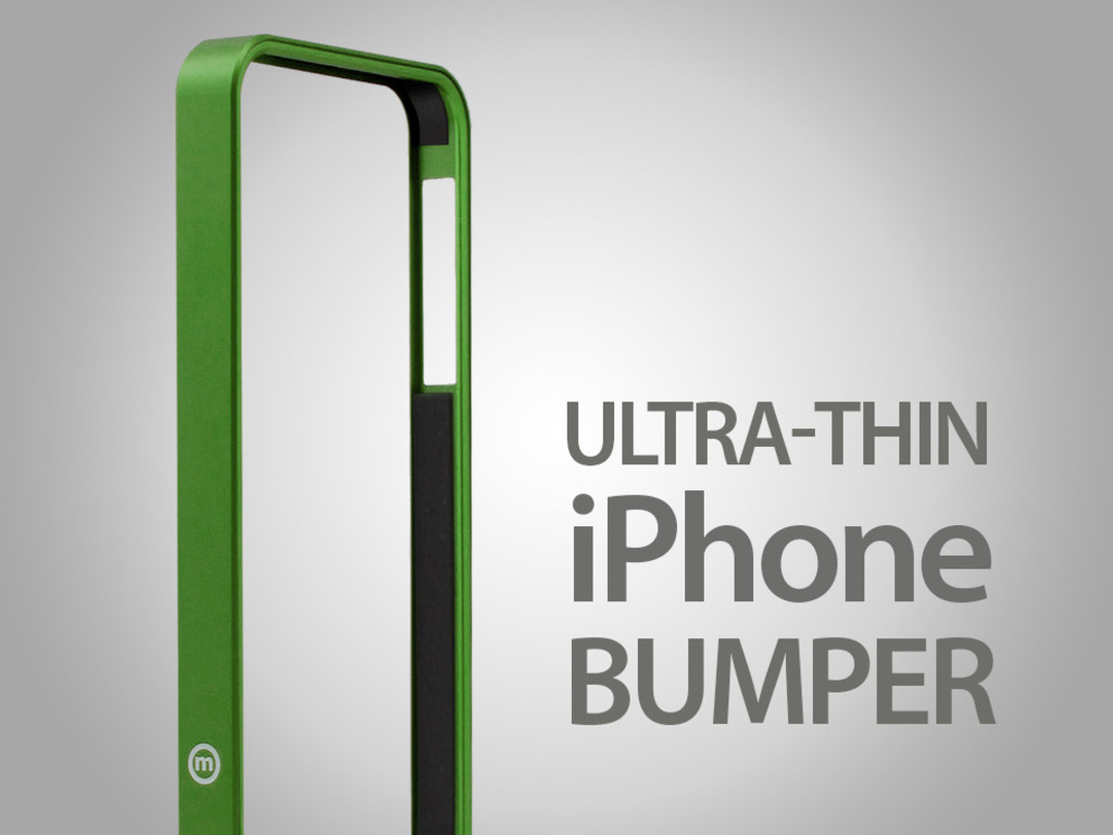 AL13 Premium UltraThin Aerospace Aluminium Bumper for iPhone's video poster
