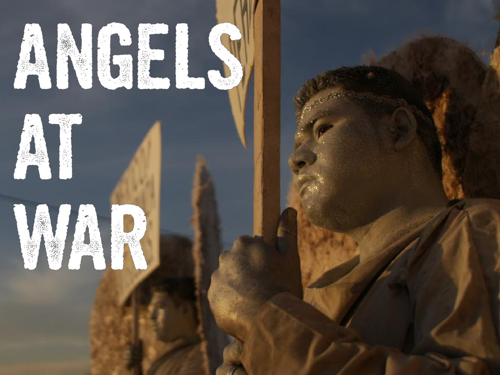ANGELS AT WAR: A Documentary of Courage's video poster