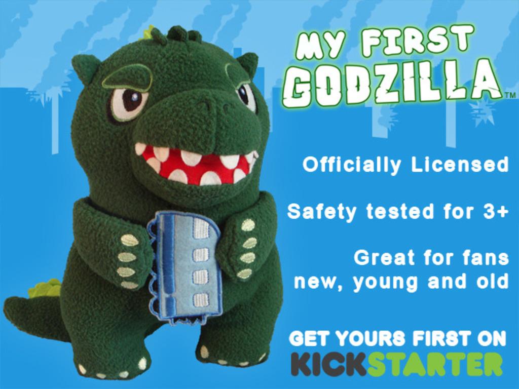 'My First Godzilla' Child-Friendly Plush's video poster