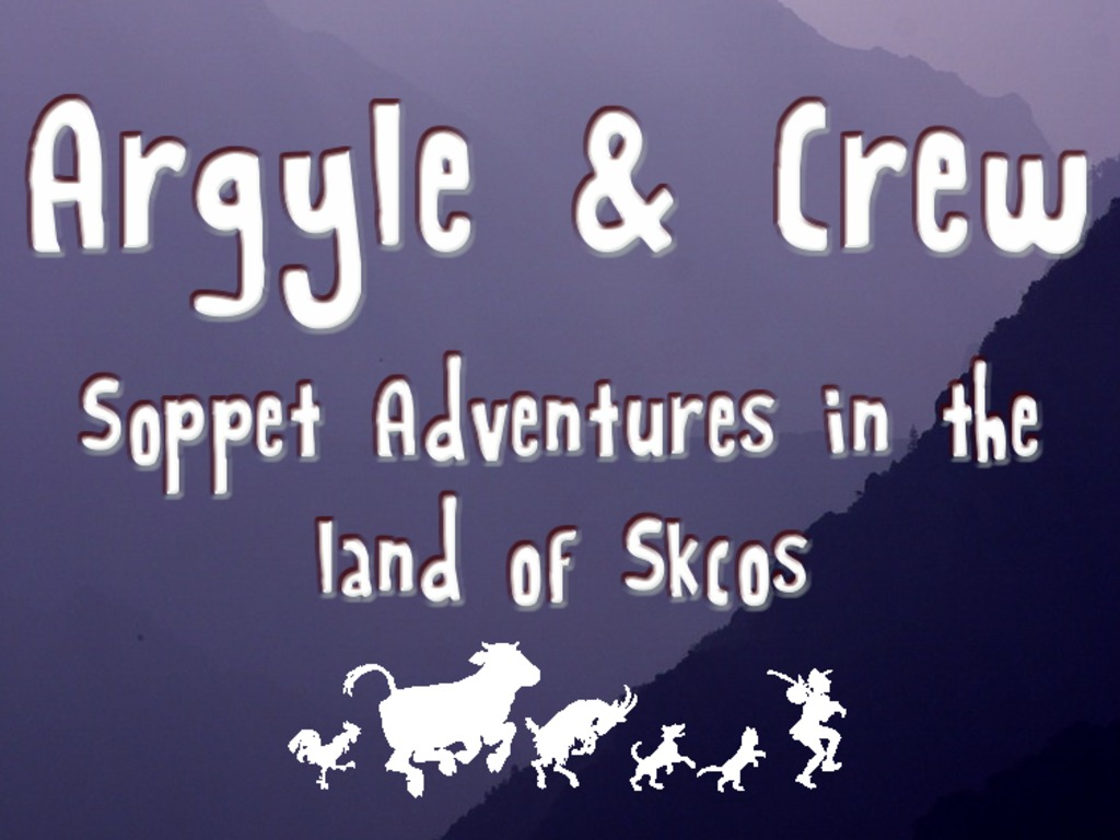 Argyle & Crew - Soppet Adventures! The sock puppet RPG's video poster