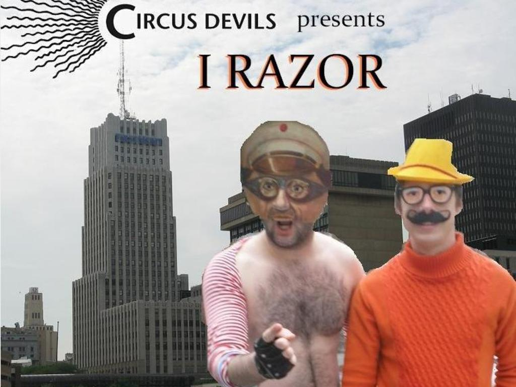 I RAZOR: A FILM BY CIRCUS DEVILS's video poster