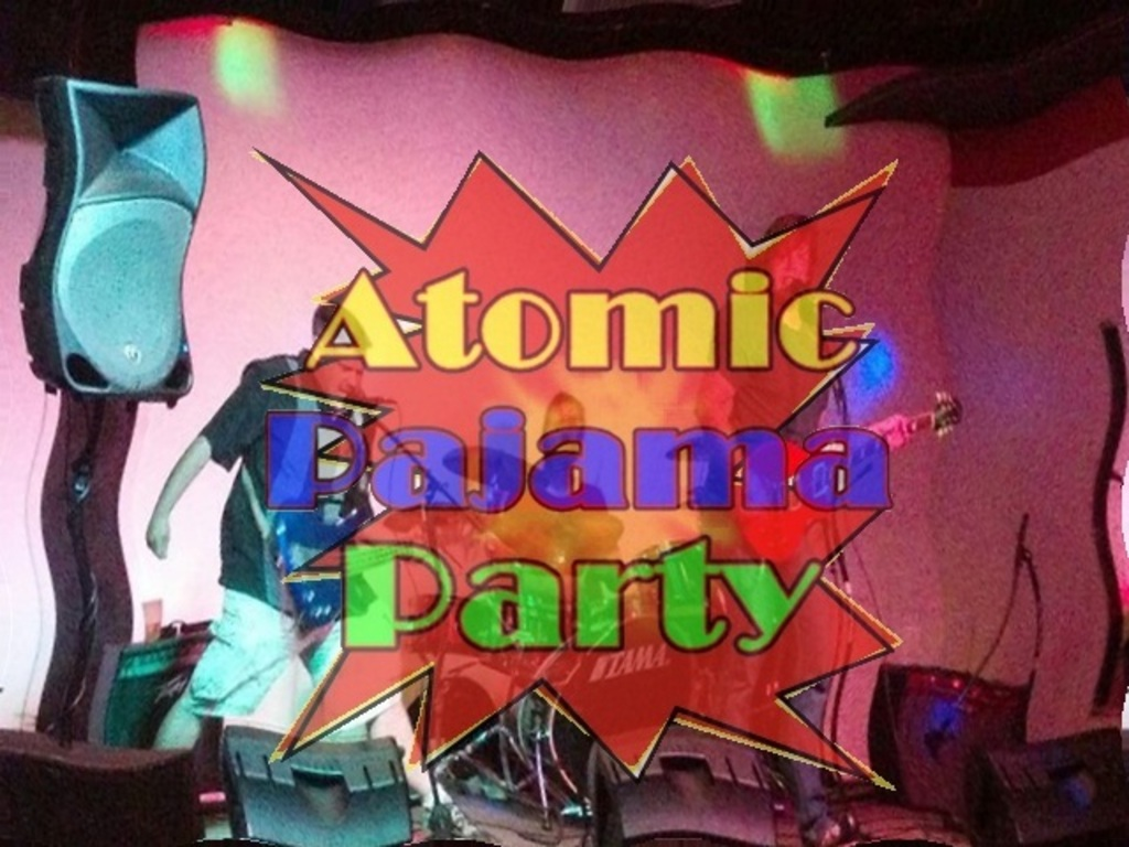 Help Atomic Pajama Party fund our first album's video poster