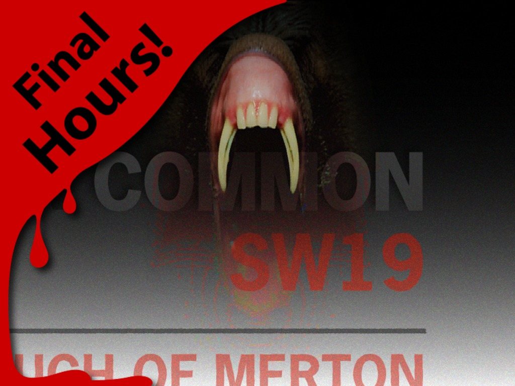 """""""COMMON"""" a chilling short film set in SW19's video poster"""