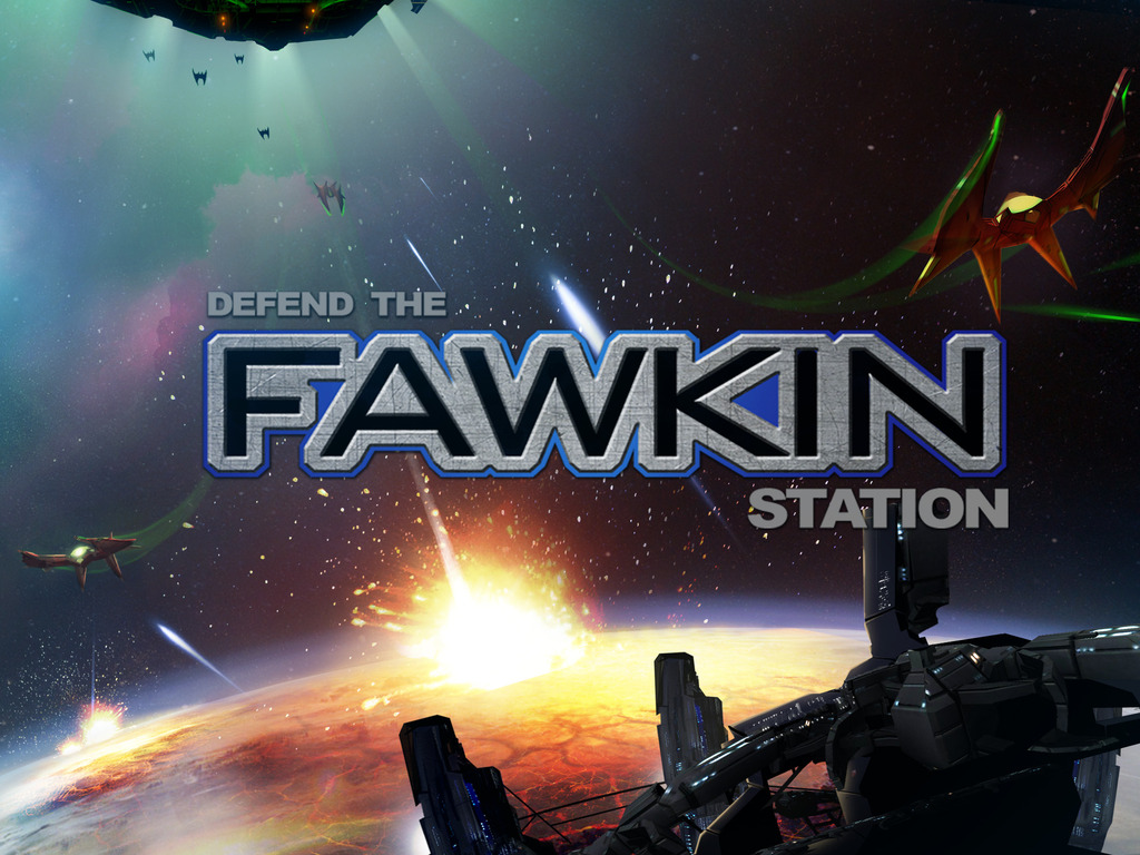 Defend the Fawkin Station's video poster