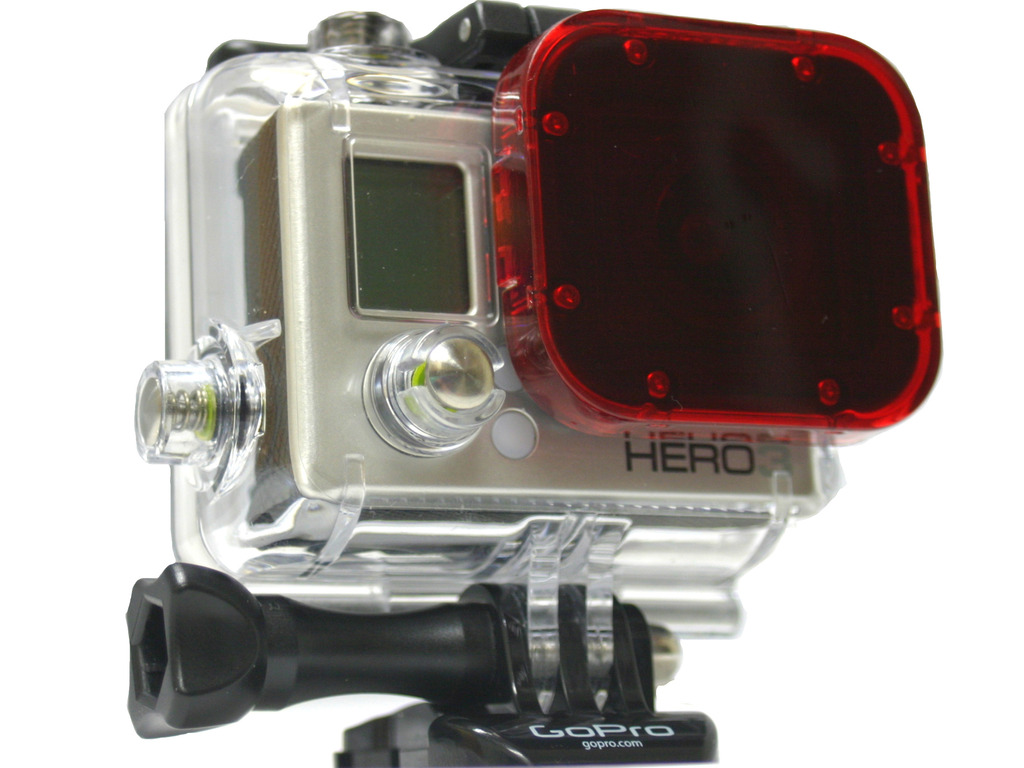 New Filter Accesory for GoPro Hero 3's video poster