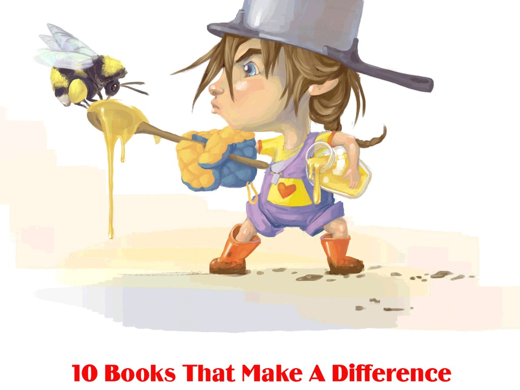 10 Books That Make A Difference's video poster