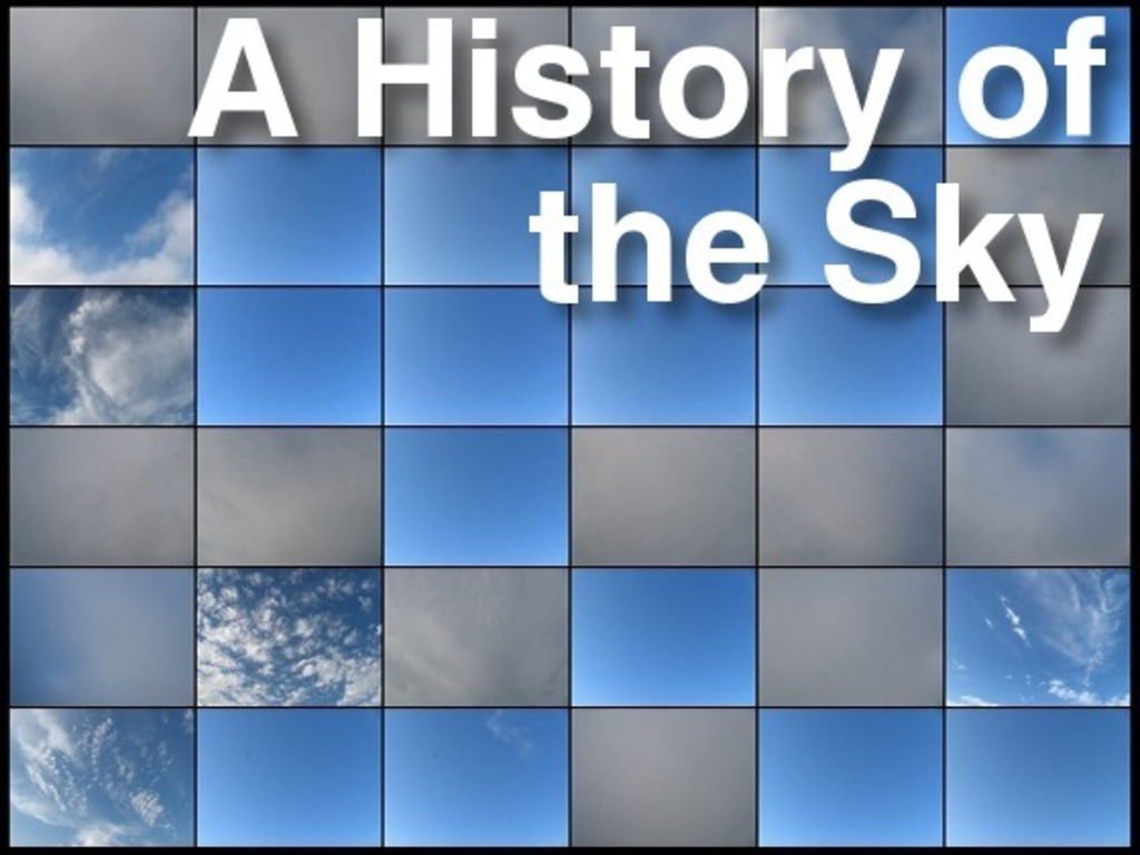 A History of the Sky's video poster