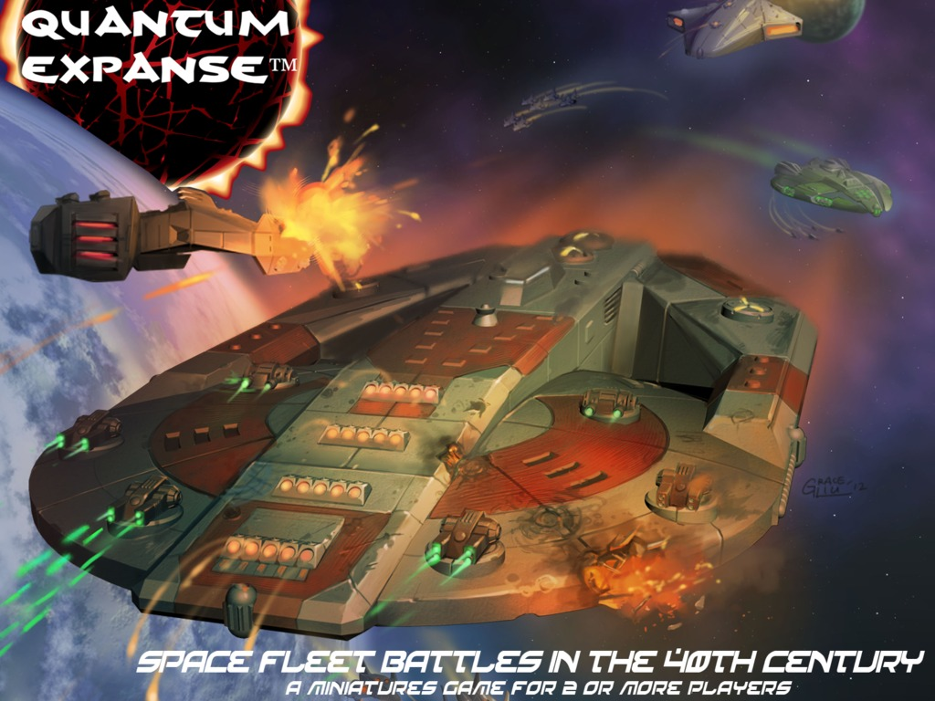 Quantum Expanse Space Fleet Miniatures Game's video poster