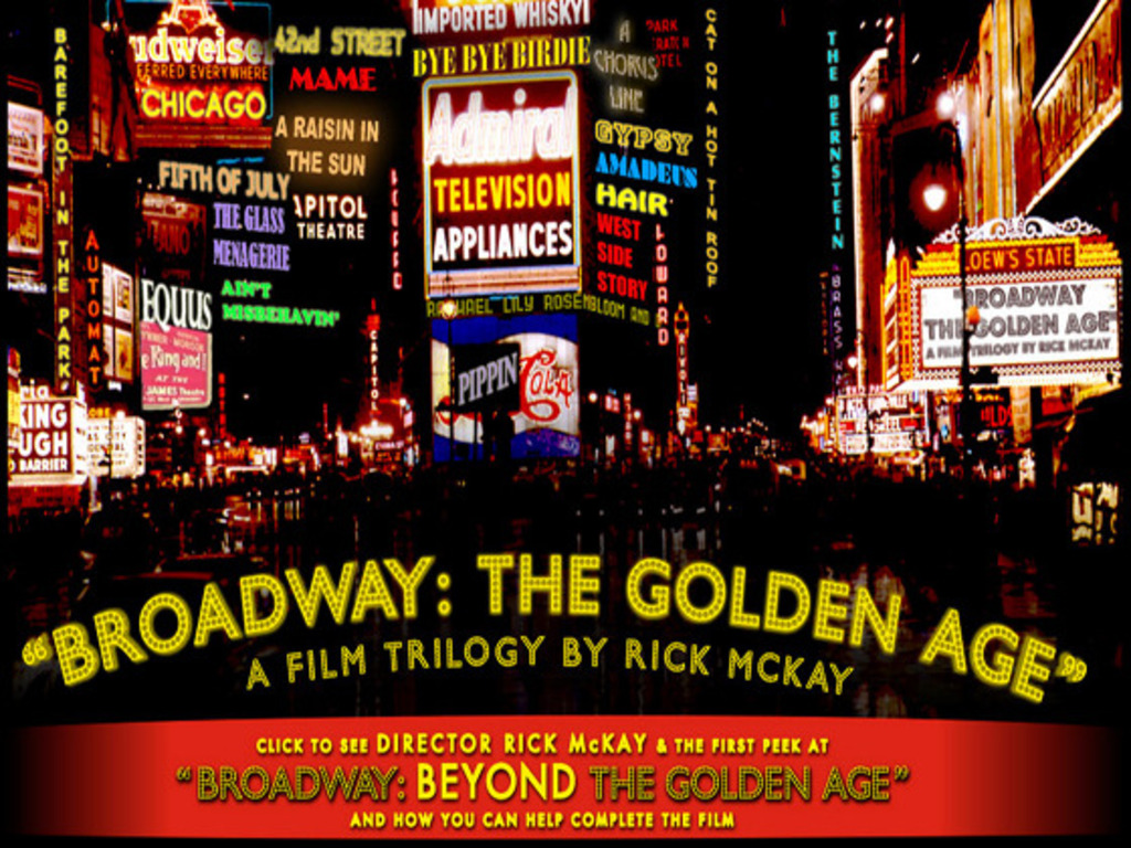 Broadway: BEYOND the Golden Age - The NEW Film w/100 Stars!'s video poster