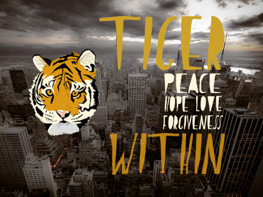 TIGER WITHIN a feature film in development's video poster